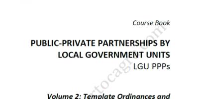 LGU-PPP-Templates-LGA-DILG