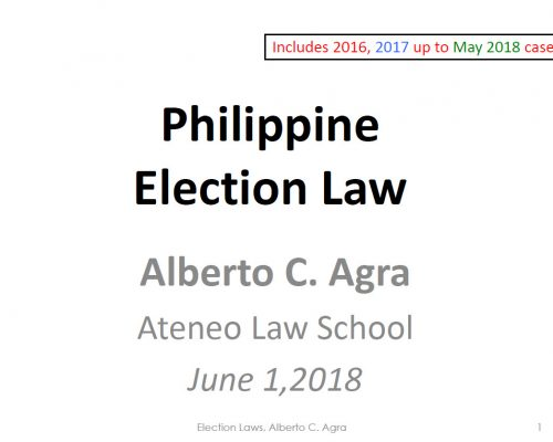 Philippine Election Law_Thumbnail